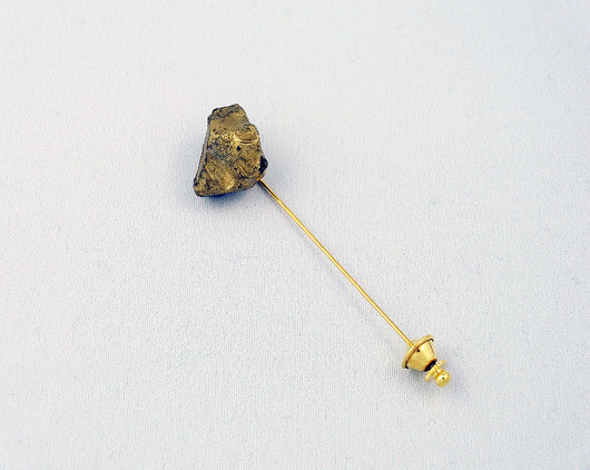 Lapel Pin - Gold Nugget