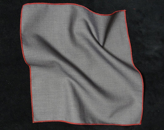 Pocket Square - Solid Grey