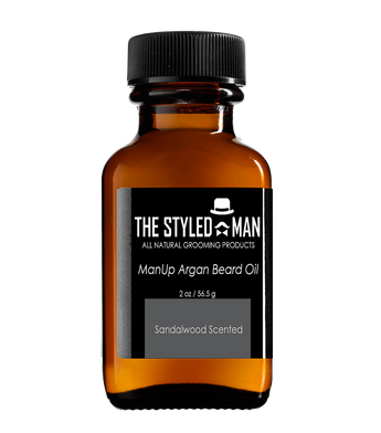 ManUp Argan Beard Oil ManUp The Styled Man The Styled Man Box - The Styled Man Box