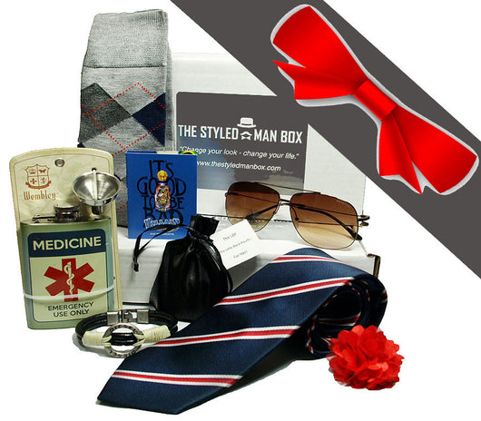 Gift a Box - Yearly Gift Subscription The Styled Man Box The Styled Man Box - The Styled Man Box