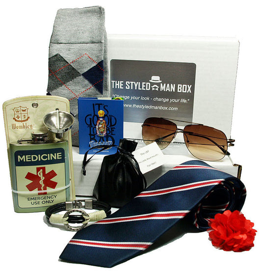Six Month Subscription  The Styled Man Box The Styled Man Box - The Styled Man Box