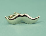 Tie Clip - Gold-toned Mustache p The Styled Man Box The Styled Man Box - The Styled Man Box