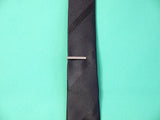 Tie Clip - Black for Skinny Tie p The Styled Man Box The Styled Man Box - The Styled Man Box