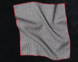 Pocket Square - Window Pane Grey