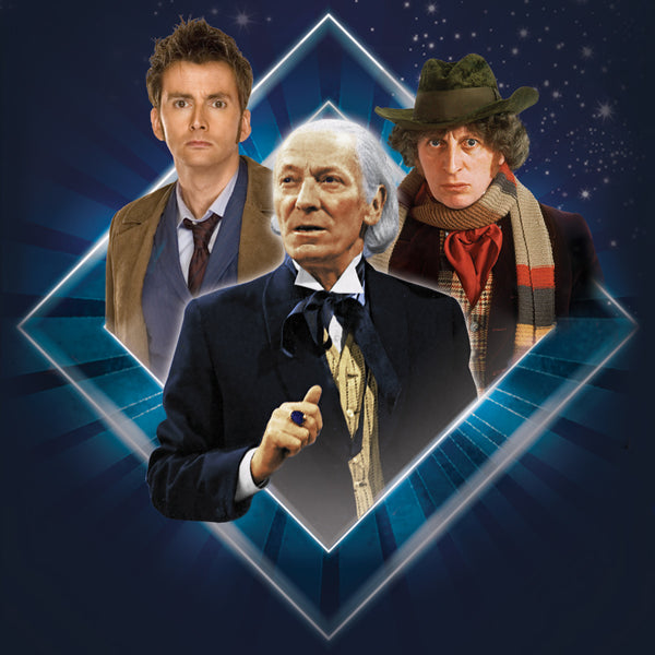 First, Fourth and Tenth Doctors