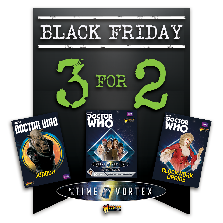 Black Friday Doctor Who Offers