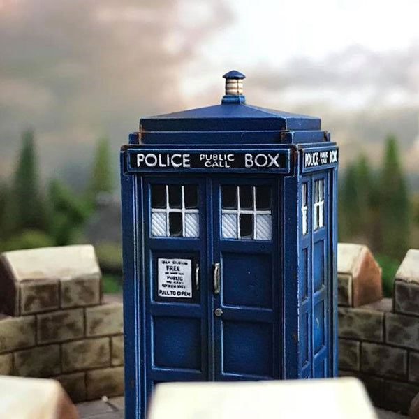 Our TARDIS model – A closer look!