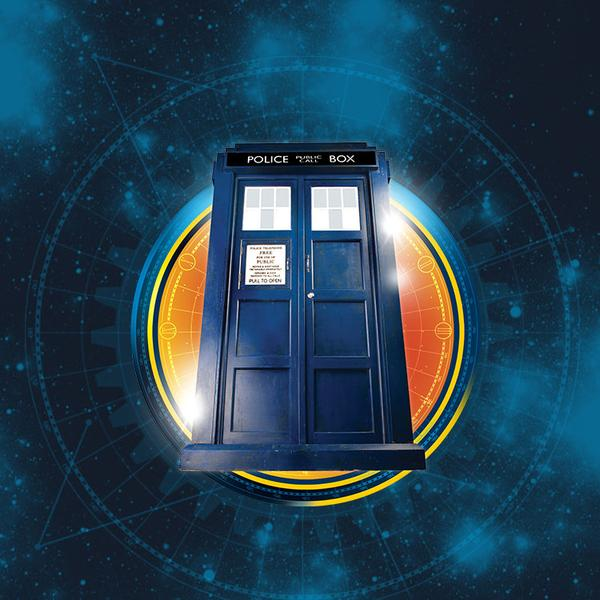 Transparent Thirteenth Doctor TARDIS