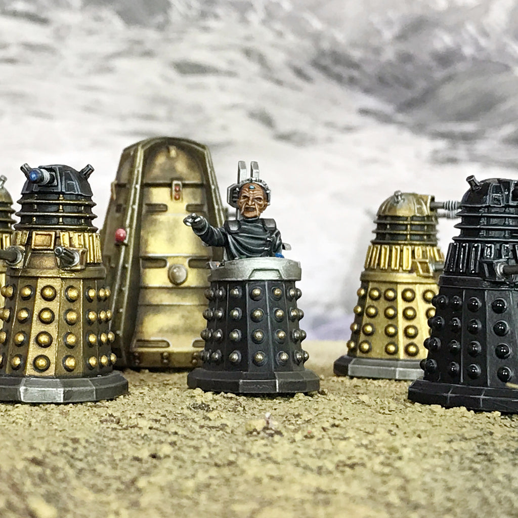 Welcome to Warlord Games' officially licensed Doctor Who miniatures collection!