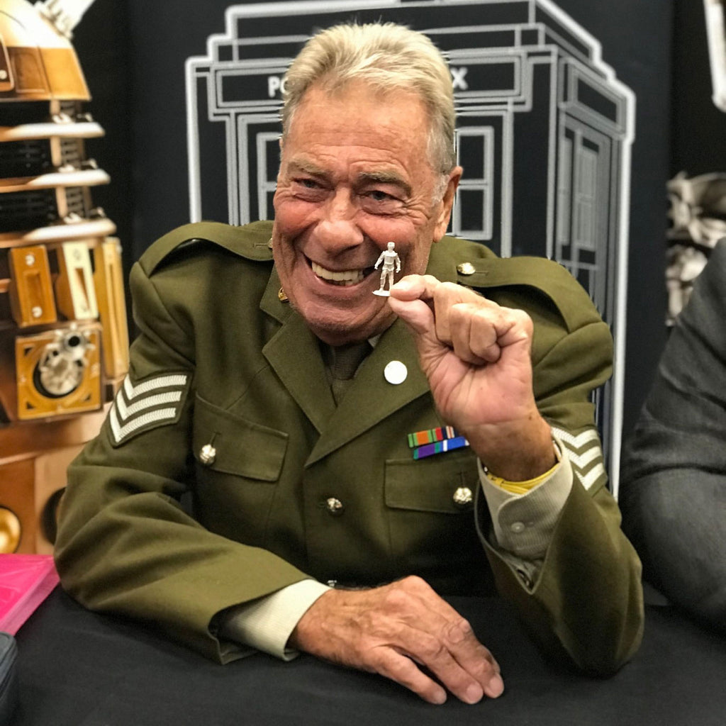 Doctor Who's Sergeant Benton (John Levene) Visits Warlord Hq!
