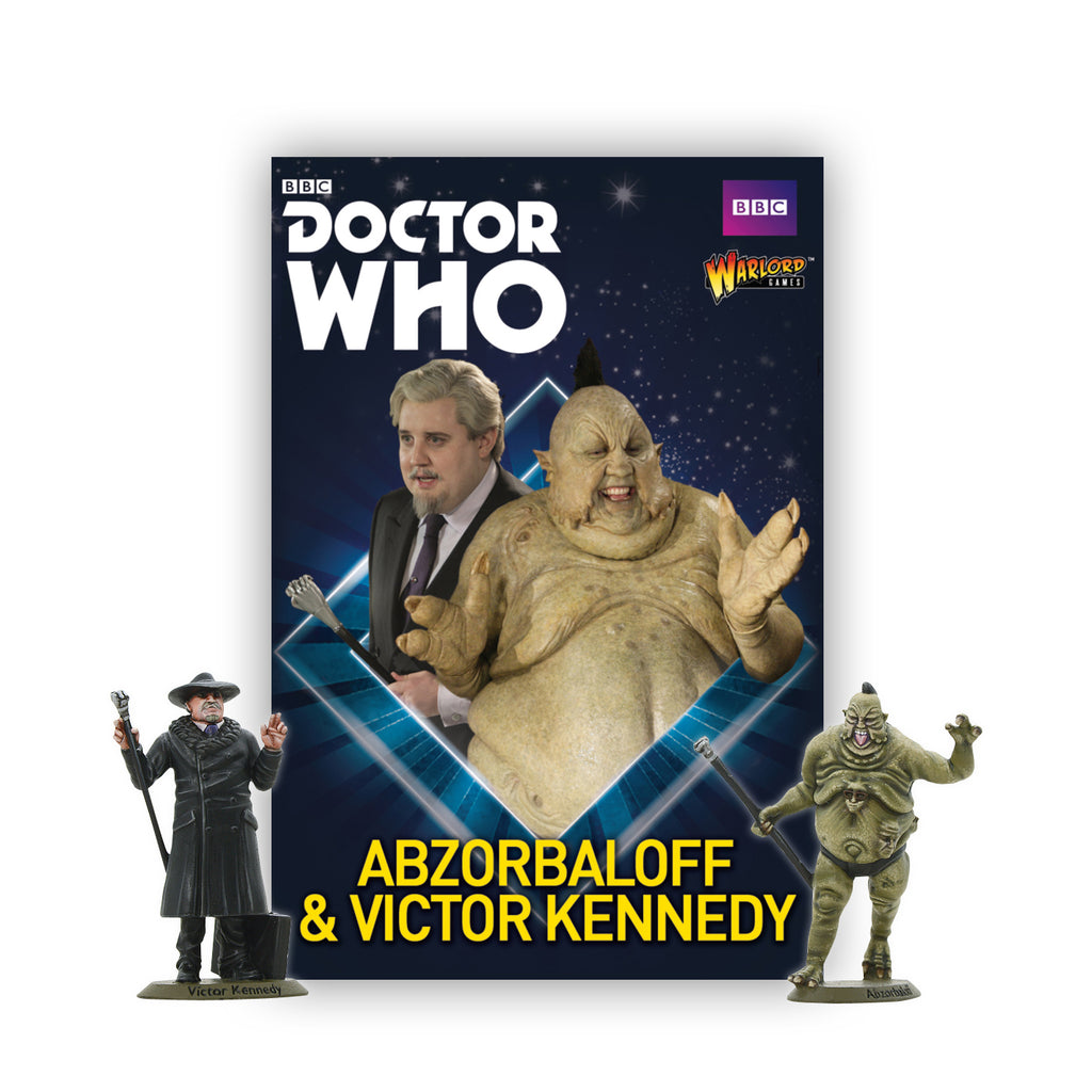 Doctor Who monster designer gives Warlord Games figure range a thumbs up!
