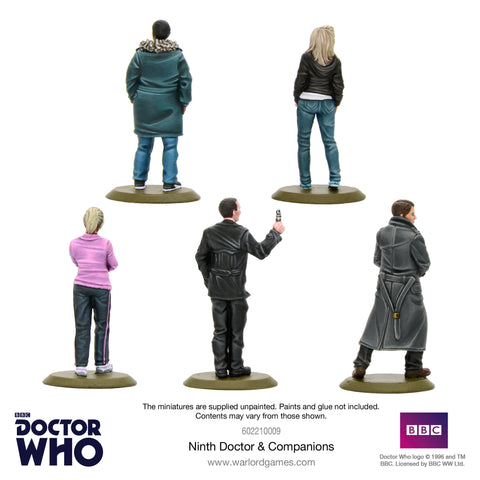 Ninth Doctor and Companions