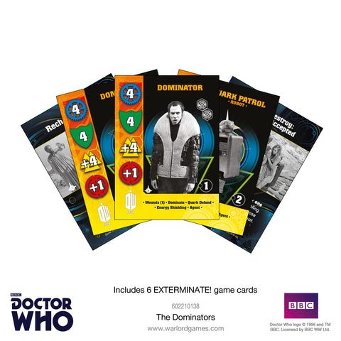 The Dominators Cards