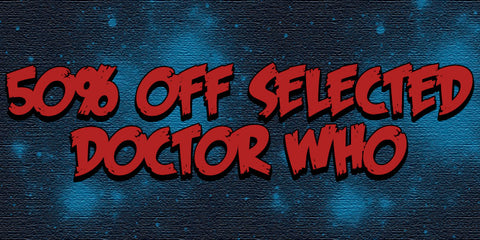Doctor Who 50% Selection