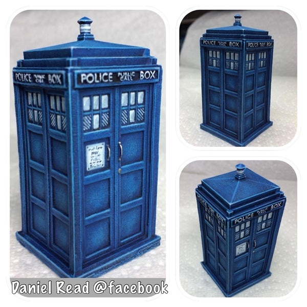 Daniel Read painting - TARDIS