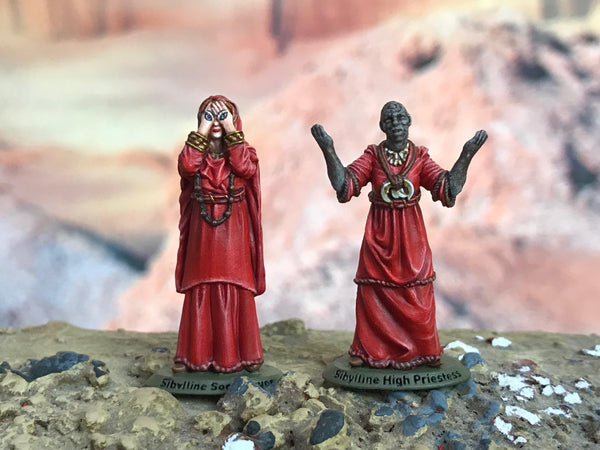 Fires of Pompeii – High Priestess & Sibylline Soothsayer