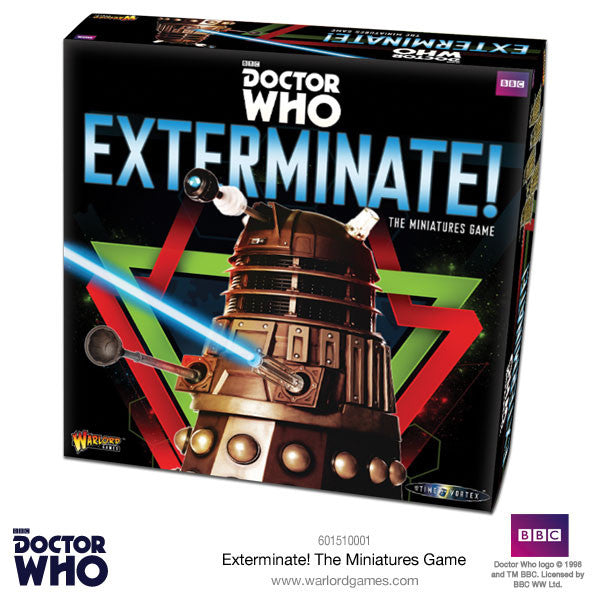Exterminate:  In to the Time Vortex Game -  Warlord Games