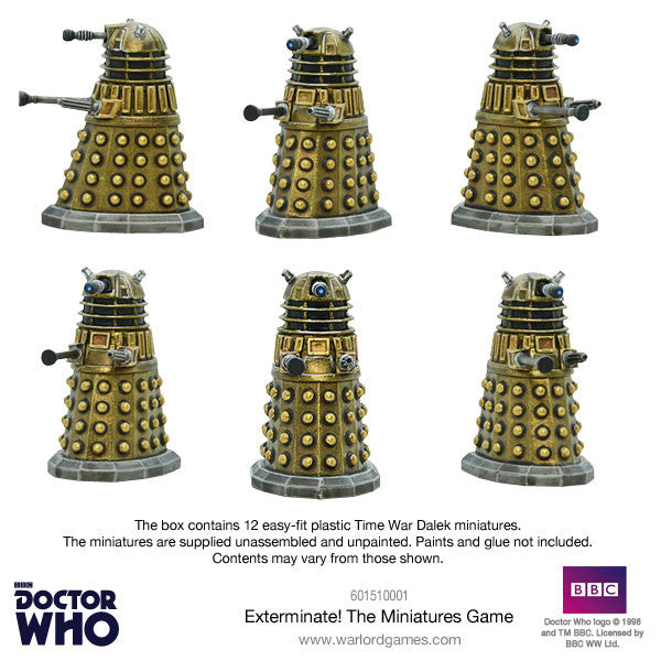 Exterminate PDF Rulebook - Doctor Who Into the Time Vortex