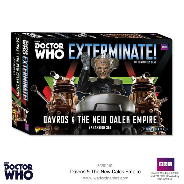 Davros and The New Dalek Empire -  Warlord Games