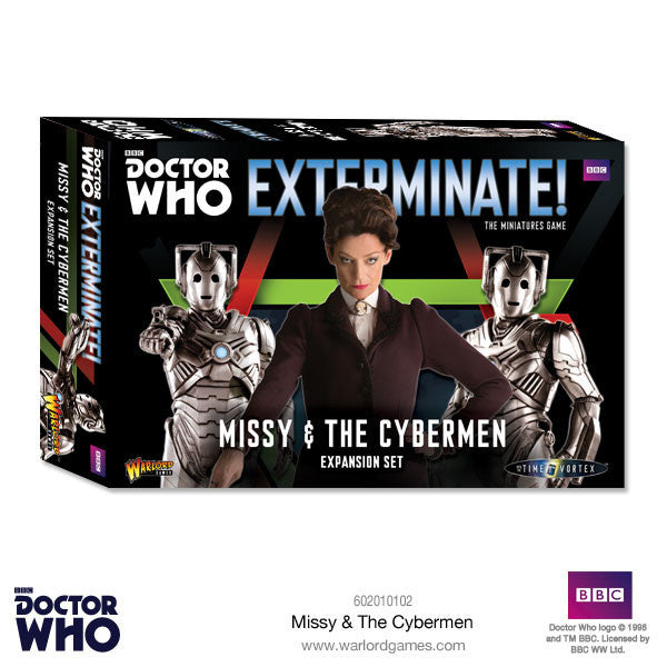 Missy and The Cybermen -  Warlord Games