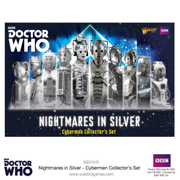 Cybermen Collectors Set -  Warlord Games