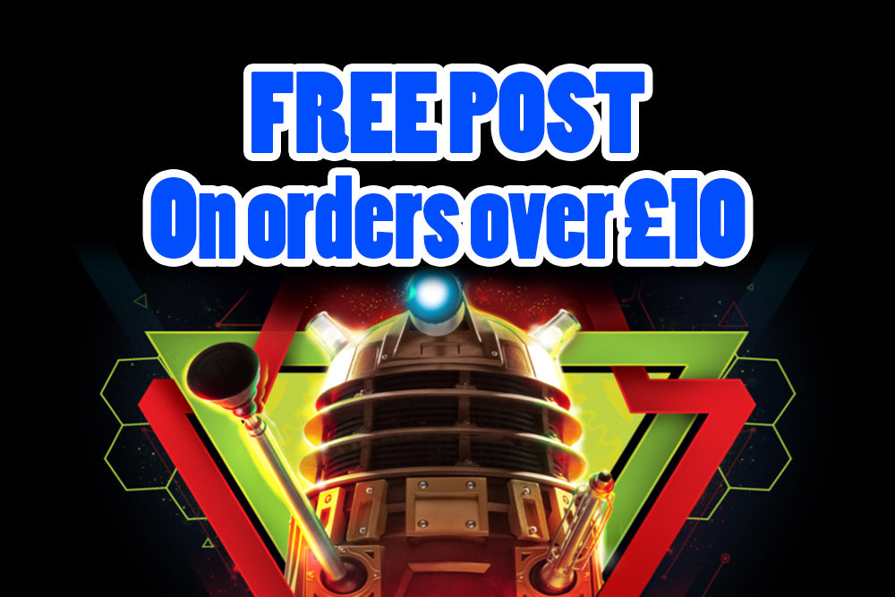 Free Post on orders over £10