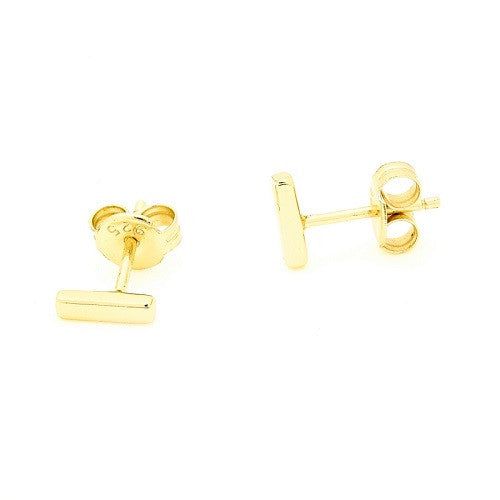 Bar Studs Earrings - Topaz Jewelry