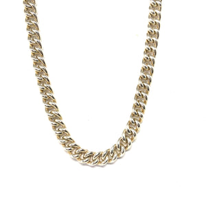 Sterling Silver Link Chain,Cuban Links Necklace - Topaz Jewelry