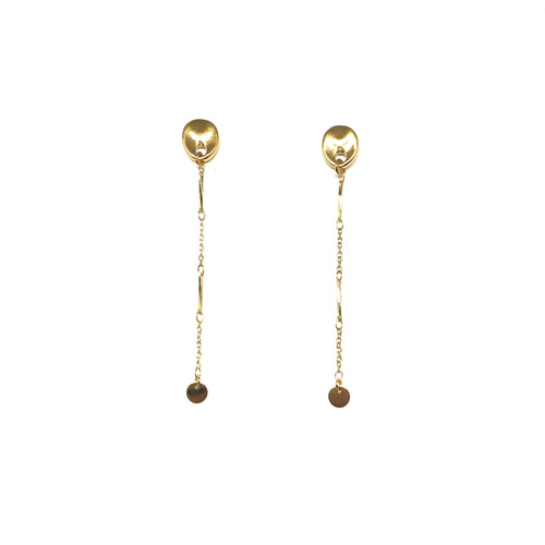Nurit Earrings - Topaz Custom Jewelry