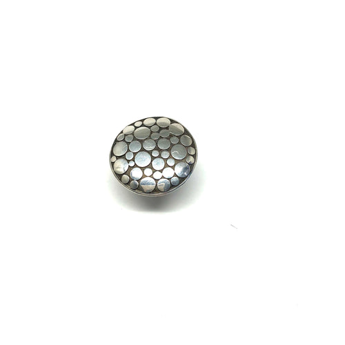 Dotted Circular Ring - Topaz Custom Jewelry