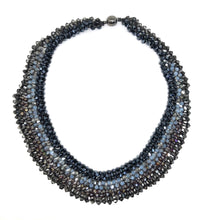Load image into Gallery viewer, Beaded Statement  Necklace - Topaz Jewelry