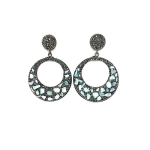 Rylie Earrings - Topaz Custom Jewelry