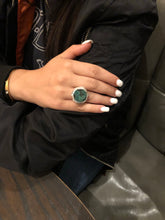 Load image into Gallery viewer, Chrysocolla Ring - Topaz Custom Jewelry