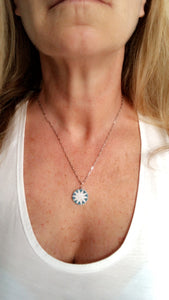 Star Bright Necklace - Topaz Custom Jewelry