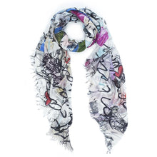 Load image into Gallery viewer, Rock Paper Scissors Scarf - Topaz Custom Jewelry