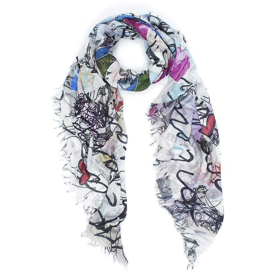 Rock Paper Scissors Scarf - Topaz Custom Jewelry