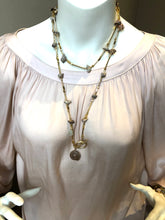 Load image into Gallery viewer, Luisa Shell Necklace - Topaz Custom Jewelry