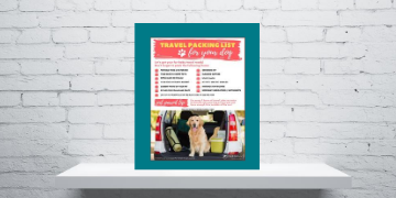 Travel Packing List for Dogs