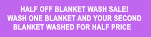 Blanket Wash Sale at Wilsun Horse Laundry