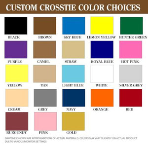 Custom Horse Crossties