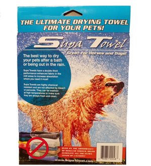 Supa Towel - Grooming & Drying Towel for Horses & Dogs