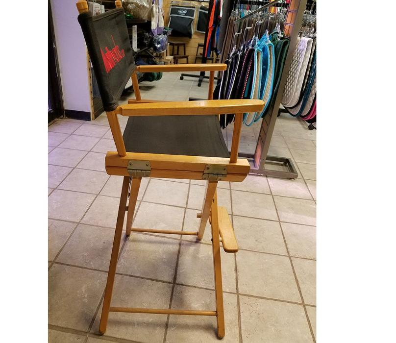 Custom Director's Chair- Tall Bar Height Size