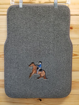 Auto, Truck & SUV Mats with Horse Art