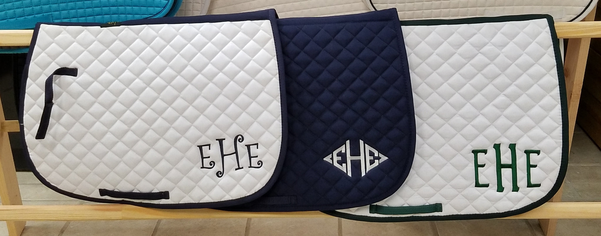 Embroidered All Purpose Saddle Pads