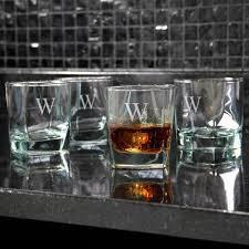Strahl Engraved Acrylic Rocks Glass (Highball) SET OF 4