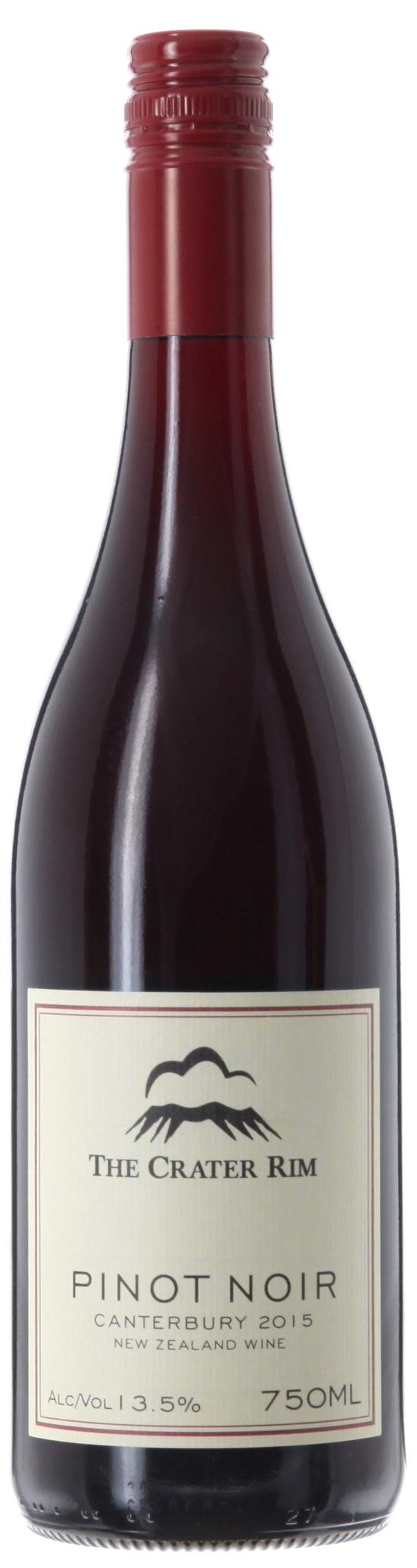 Pinot Noir The Crater Rim, Canterbury, New Zealand 13.5%