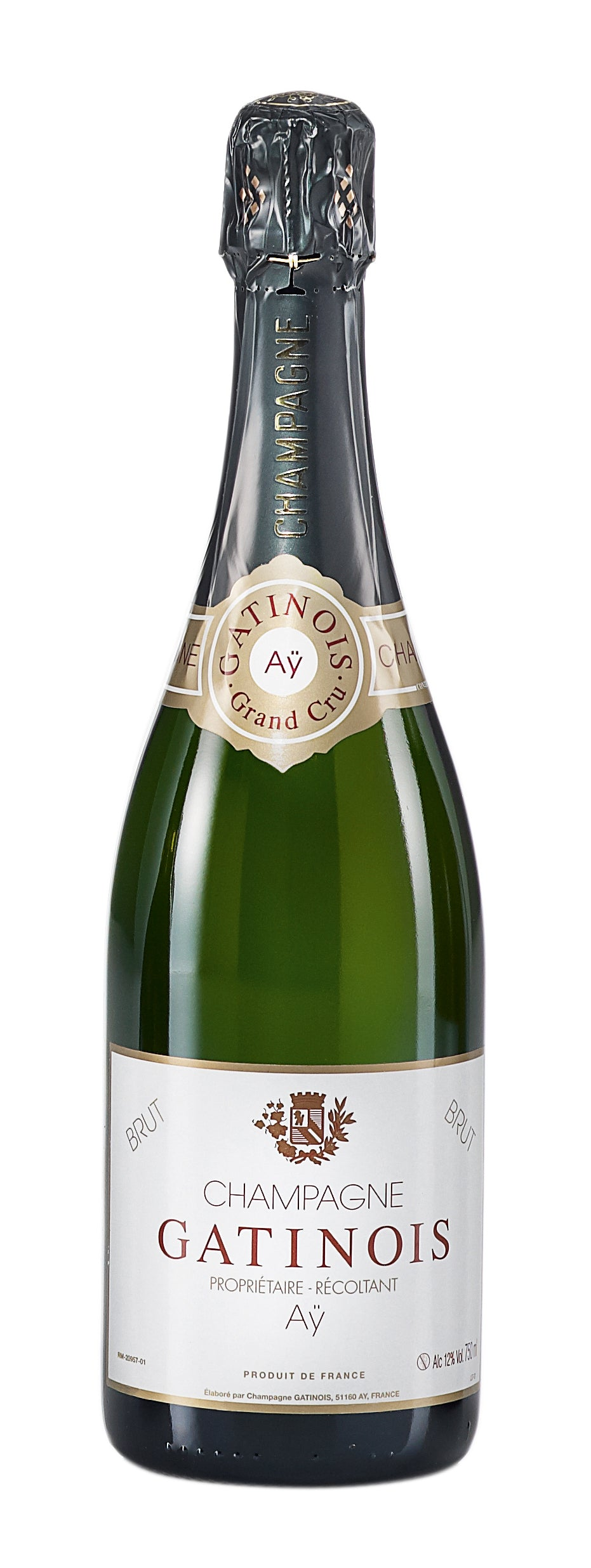 Gatinois Champagne, Grand Cru Aÿ, Brut NV - Case of 6
