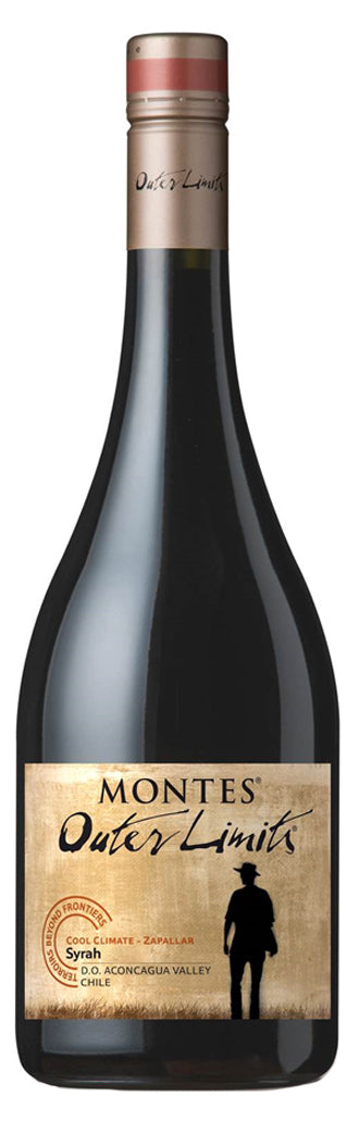 2016 Syrah, Outer Limits by Montes, Aconcagua Costa, Chile