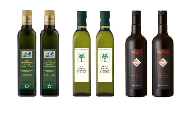 6-bottle Mixed Case of Italian 2017 Olive Oils