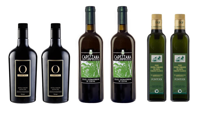 Mixed Case of Italian 2018 Olive Oils (6-bottles)